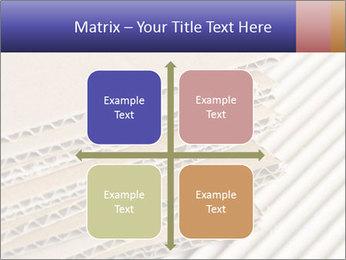 Cardboard pile PowerPoint Template - Slide 37