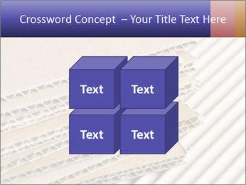 Cardboard pile PowerPoint Template - Slide 39