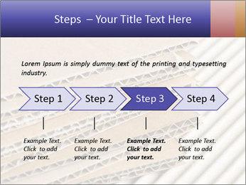 Cardboard pile PowerPoint Template - Slide 4