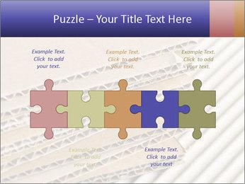 Cardboard pile PowerPoint Template - Slide 41