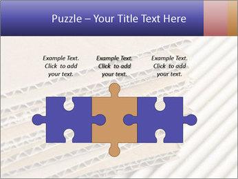 Cardboard pile PowerPoint Template - Slide 42
