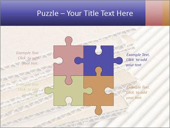 Cardboard pile PowerPoint Template - Slide 43