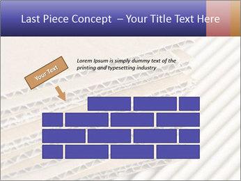 Cardboard pile PowerPoint Template - Slide 46