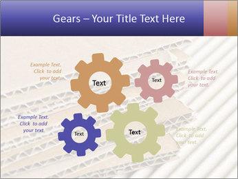 Cardboard pile PowerPoint Template - Slide 47