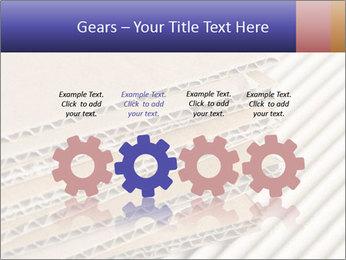 Cardboard pile PowerPoint Template - Slide 48