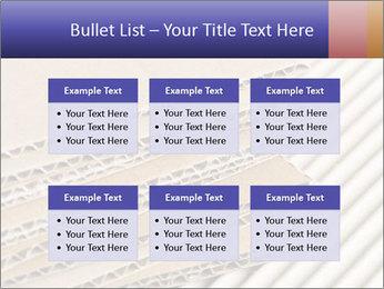 Cardboard pile PowerPoint Template - Slide 56