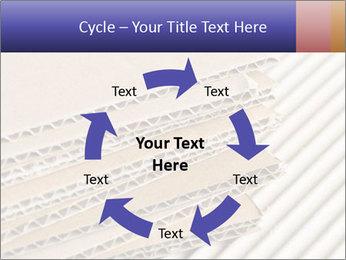 Cardboard pile PowerPoint Template - Slide 62