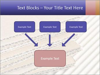 Cardboard pile PowerPoint Template - Slide 70
