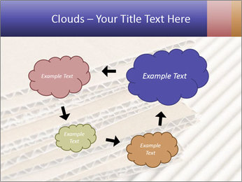 Cardboard pile PowerPoint Template - Slide 72