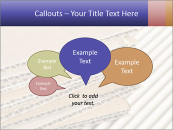 Cardboard pile PowerPoint Template - Slide 73