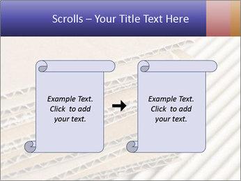 Cardboard pile PowerPoint Template - Slide 74