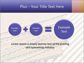 Cardboard pile PowerPoint Template - Slide 75