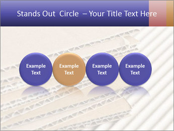 Cardboard pile PowerPoint Template - Slide 76