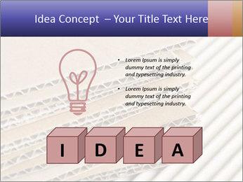 Cardboard pile PowerPoint Template - Slide 80