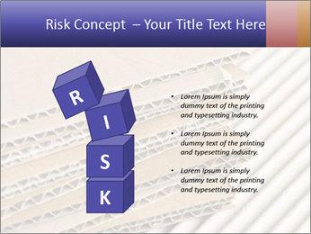 Cardboard pile PowerPoint Template - Slide 81