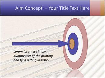 Cardboard pile PowerPoint Template - Slide 83