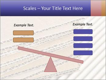 Cardboard pile PowerPoint Template - Slide 89