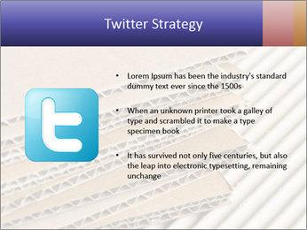 Cardboard pile PowerPoint Template - Slide 9
