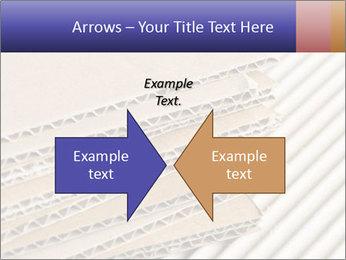 Cardboard pile PowerPoint Template - Slide 90