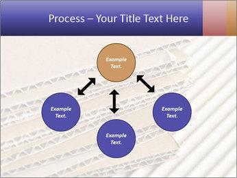 Cardboard pile PowerPoint Template - Slide 91