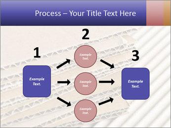 Cardboard pile PowerPoint Template - Slide 92