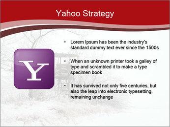 Snowy landscape PowerPoint Templates - Slide 11