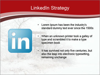 Snowy landscape PowerPoint Templates - Slide 12