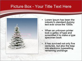 Snowy landscape PowerPoint Templates - Slide 13