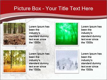 Snowy landscape PowerPoint Templates - Slide 14