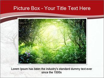 Snowy landscape PowerPoint Templates - Slide 15