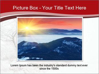 Snowy landscape PowerPoint Templates - Slide 16