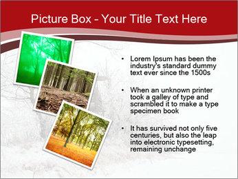 Snowy landscape PowerPoint Templates - Slide 17