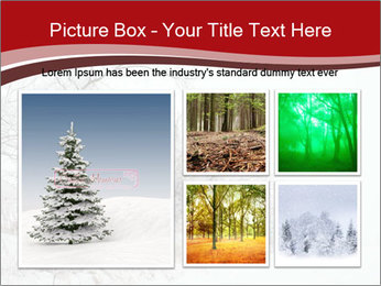 Snowy landscape PowerPoint Templates - Slide 19