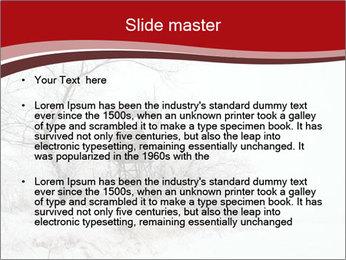 Snowy landscape PowerPoint Templates - Slide 2