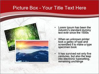 Snowy landscape PowerPoint Templates - Slide 20