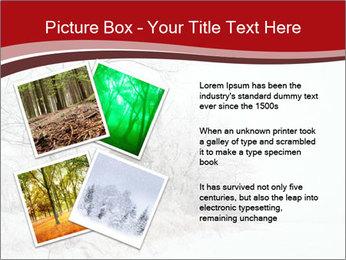 Snowy landscape PowerPoint Templates - Slide 23