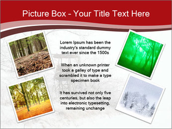 Snowy landscape PowerPoint Templates - Slide 24