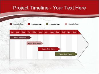 Snowy landscape PowerPoint Templates - Slide 25