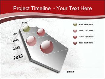 Snowy landscape PowerPoint Templates - Slide 26