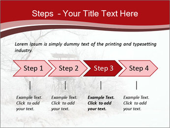 Snowy landscape PowerPoint Templates - Slide 4