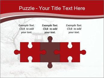 Snowy landscape PowerPoint Templates - Slide 42