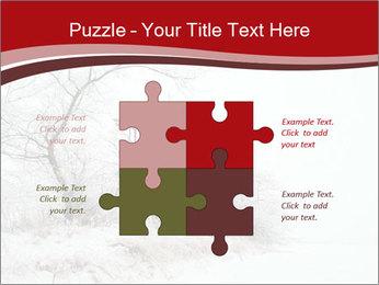 Snowy landscape PowerPoint Templates - Slide 43