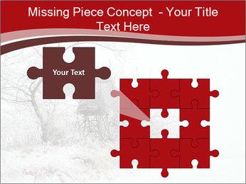 Snowy landscape PowerPoint Templates - Slide 45