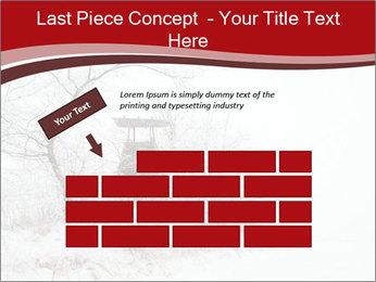 Snowy landscape PowerPoint Templates - Slide 46