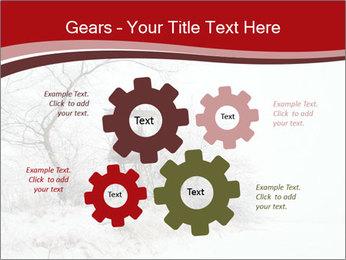 Snowy landscape PowerPoint Templates - Slide 47