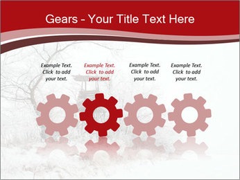 Snowy landscape PowerPoint Templates - Slide 48