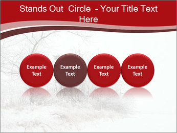 Snowy landscape PowerPoint Templates - Slide 76