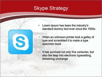 Snowy landscape PowerPoint Templates - Slide 8