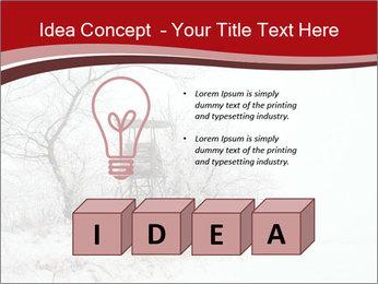 Snowy landscape PowerPoint Templates - Slide 80