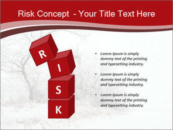 Snowy landscape PowerPoint Templates - Slide 81